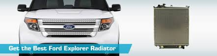 radiator for 2007 ford explorer ford explorer radiator auto radiators crash apdi