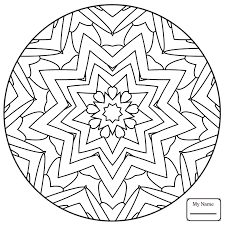 arts culture simple abstract mandala simple mandalas coloring