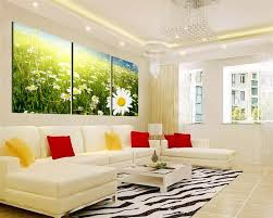 Wall Decorations For Living Room Modern Living Room Red And Black Interior Design