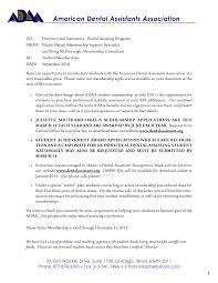 cover letter dental assistant sample resume free dental assistant