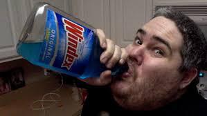 The Challenge Kidbehindacamera Pickleboy Drinks Windex Prank