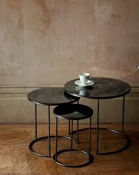 glass coffee table nest ochre contemporary furniture lighting and accessory design