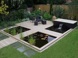 eksterior design raised garden pond ideas attractive garden pond
