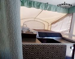 Pop Up Camper Curtains Coleman Replacing Curtains In A Pop Up Camper U2014 Campfire Travelers