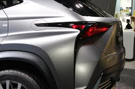 lexus lf lc tail lights lexus lf nx concept first look automobile magazine