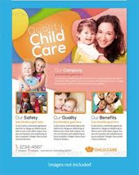 daycare brochure template daycare flyer templates flyer template template and psd templates