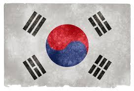 Korea Flag Image South Korea Grunge Flag