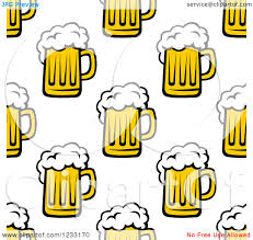 cartoon beer no background clipart of a seamless background of beer mugs royalty free