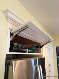 Kitchen Cabinet Storage Solutions Cabinet Storage Refrigerator - Above kitchen cabinet storage