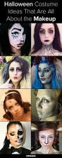 half face halloween makeup ideas 56 best halloween makeup images on pinterest costumes halloween