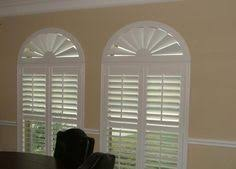 Arch Windows Decor Arched Plantation Shutters By The Louver Shop Make A Great