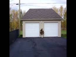 Garages Designs by Best Ideas On Building A Detached Garage Youtube