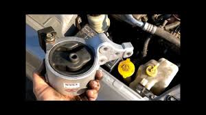 nissan rogue engine specs hydraulic motor mount replacement video nissan youtube