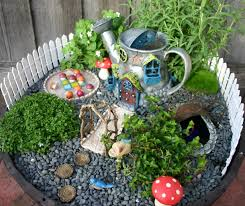 Pink And Green Mama Childrens Backyard Fairy Garden Miniature