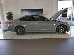 bmw m4 stanced an individual nardo grey m4 lci with the black style 666s at my