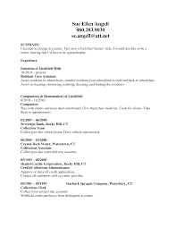 Resume Sample Template Doc by Cna Resume Examples With Experience