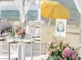 B And M Table And Chairs Nantucket Wedding At St Mary U0027s U0026 Galley Beach Christen U0026 Craig