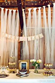 Curtains Wedding Decoration 158 Best Diy Tulle Wedding Decorations Images On Pinterest Tulle