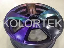 color wheel paint and coatings chameleon metallic powder pigments