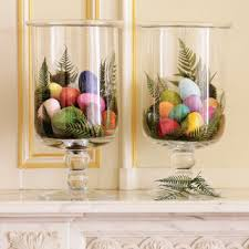 Easter Glass Decorations by Nests And Glass Dome Spring Decorations The Style Sisters