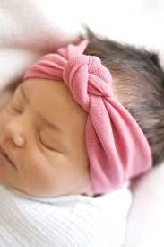 knotted headband burnt pink knot headband for baby infant newborn girl knot