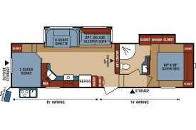 Fifth Wheel Rv Floor Plans by D286bhd Durango 1500 Fifth Wheel Kearney Ne Mason Rv