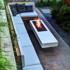 Modern Fire Pits by Maybe Plant The Bamboo In Long Planter Box Instead Of Just