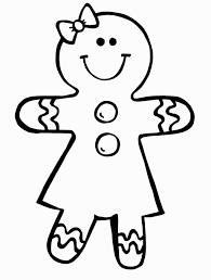 gingerbread coloring page mormon share gingerbread
