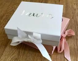 bridesmaid boxes bridesmaid boxes etsy