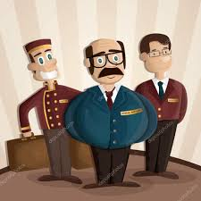 hotel staff stock vectors royalty free hotel staff illustrations
