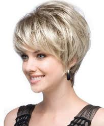 wigs short hairstyles round face best and cute haircut for round faces and thin hair of short