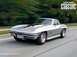 vintage corvette stingray 1967 chevrolet corvette front three quarters driver 1967