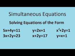 simultaneous equations the complete maths guide youtube