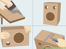 How To Build A Speaker Cabinet How To Make Your Own Speakers 12 Steps With Pictures Wikihow