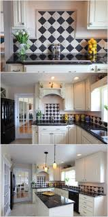 7 ways to decorate your kitchen with checkered pattern