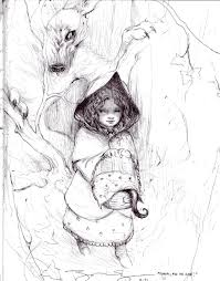red riding hood james jean comic art fantasy