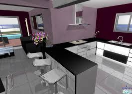exemple de cuisine ouverte photo de cuisine ouverte sur sejour seo04 décorétonnant exemple