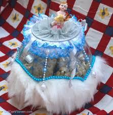 fishbowl baby shower centerpiece gift idea dot com women