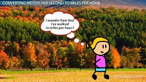 Speed Of Light In Miles Per Hour How To Convert Meters Per Second To Miles Per Hour Video