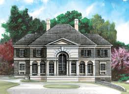 greek revival home plans house plan 98270 at familyhomeplans com