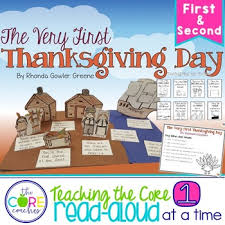 the thanksgiving read aloud lesson plans and activities