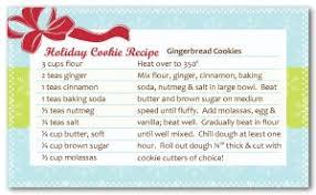 printable cookie exchange recipe card template