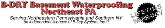 basement waterproofing by b dry system nepa
