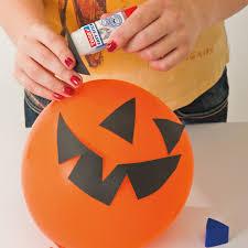 Halloween Party Decorations Homemade - halloween party decorations diy ideas orange balloon black paper