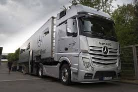 mercedes truck 2013 mercedes dtm team relies on actros trucks to journey 2 600km