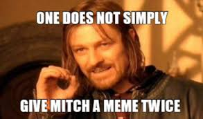Mitch Meme - meme maker one does not simply