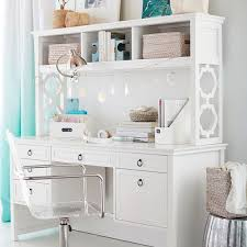 Desks With Hutches Storage Elsie Storage Desk Pbteen