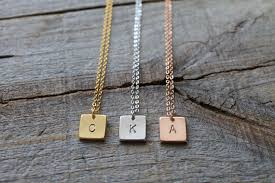letter plate necklace images 925 sterling silver personalized bar necklace name plate initial jpg