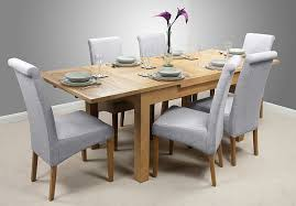 Solid Oak Extending Dining Table And 6 Chairs Dorset 4ft 7 U2033 X 3ft Solid Oak Extending Dining Table 6 Light