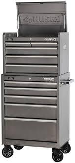 husky 5 drawer side cabinet husky 10 drawer mechanics toolbox top bottom tool storage set